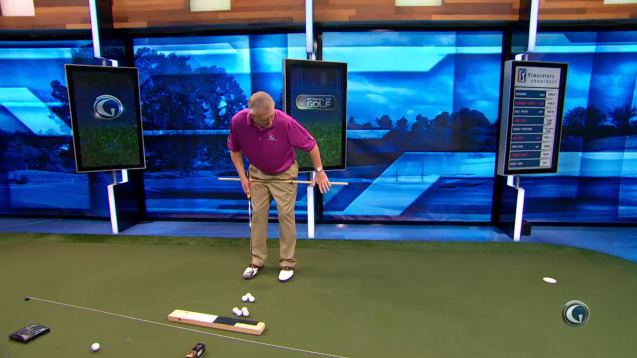 lower body putting drill