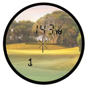 Golf Rangefinder View