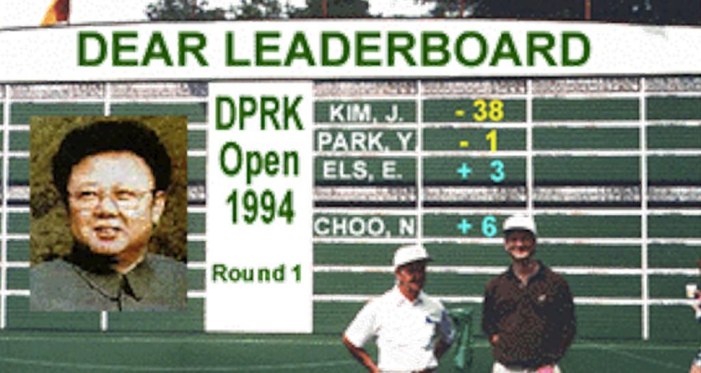 Kim Jung golf
