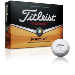 titleist pro v1 spinning golf ball