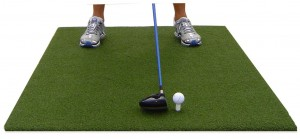 emerald golf mat